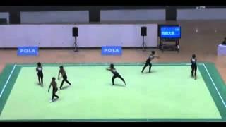 大学生が演じた新体操が世界で大絶賛