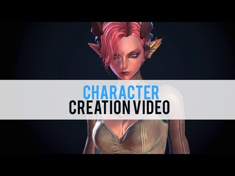 TERA Character Creation - First Look HD