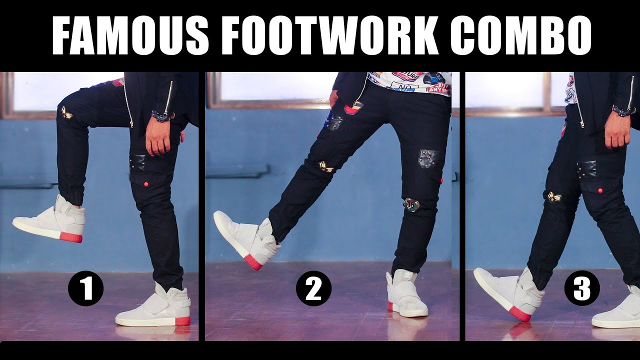 3 Famous Dance Moves   Footwork Tutorial in Hindi   Simple Hip Hop steps for beginners