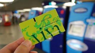 Лиссабон: из аэропорта на метро. Как купить билет и добраться в центр.(Как найти станцию метро в аэропорту Лиссабона и инструкция по покупке билета. Хотите познакомиться с..., 2016-11-11T10:43:47.000Z)