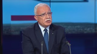 Riyad al-Maliki: 'We are not having elections in Palestine, without having any in East Jerusalem'