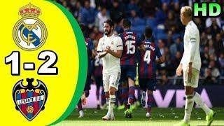 REAL MADRID 1-2 LEVANTE | All Goals & Highlights La Liga 20 Oktober 2018