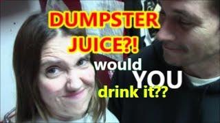 #DumpsterDiving for Trash Vegis' (DUMPSTER JUICING)