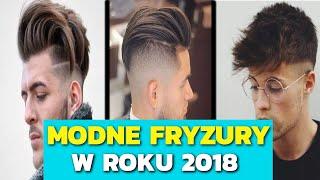 Modne fryzury męskie 2018 • włosy krótkie, średnie i długie