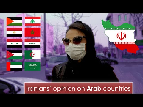 What Iranians Think About Arab Countries