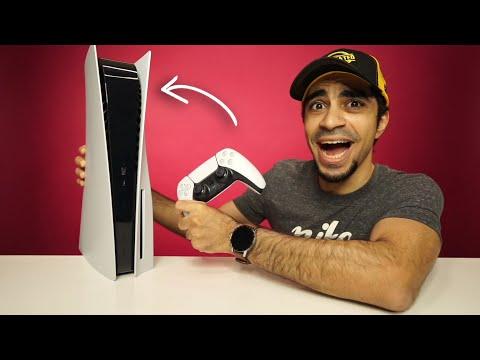 اخيرا اشتريت بلايستيشن 5 - PlayStation 5 !!