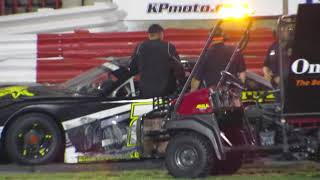 Bowman Gray - 6-16-18 Two drivers make plans for lunch after church on Sunday