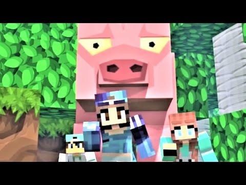"NEW MINECRAFT SONG: ""Castle Raid 1-6"" The Complete Minecraft Music Video Series Minecraft Song 2017"