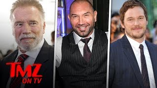 Dave Bautista Says Chris Pratt Doesn't Need Father In Law Advice | TMZ TV