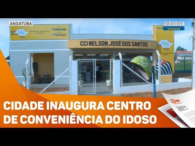 Cidade inaugura centro de conveniência do idoso - TV SOROCABA/SBT