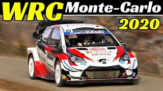 WRC Rallye Monte-Carlo 2020 - Shakedown & Highlights - Action & Pure Sound!
