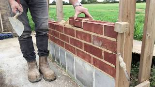 the fine art of brickwork - Basic Skills - Lesson 2