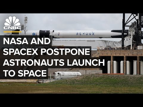 SpaceX and NASA postpone historic astronaut launch due to bad weather — 5/27/2020