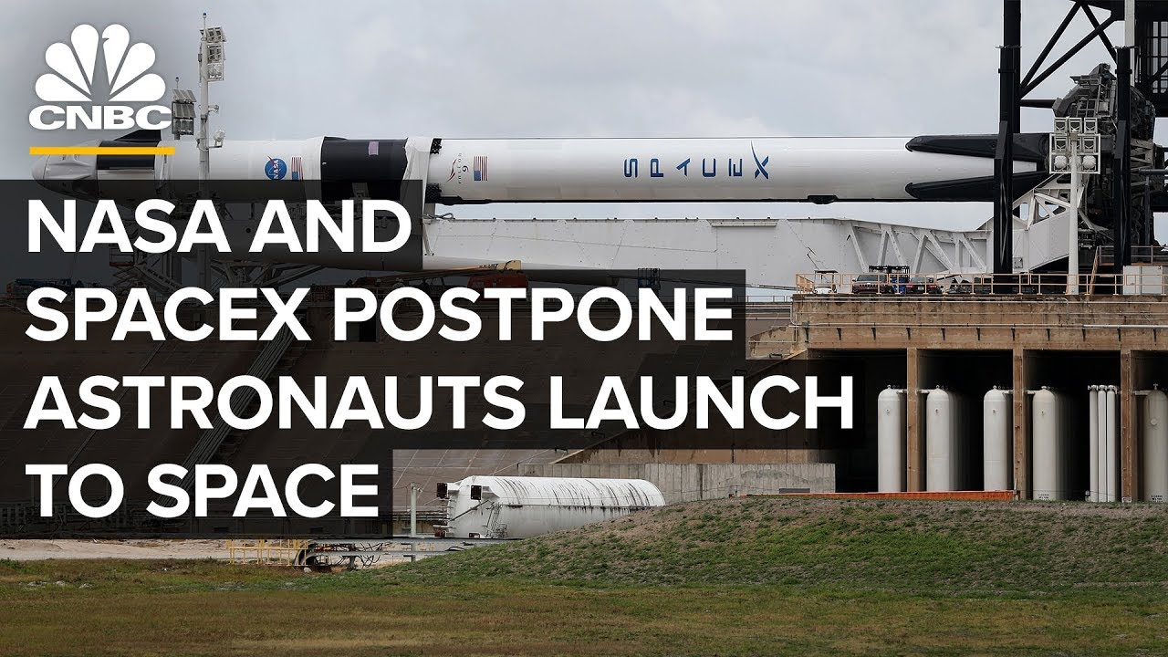 NASA's SpaceX launch live updates: Mission called off due to weather