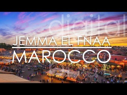 Marrakesh - Jemaa el-Fnaa - Marocco