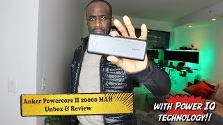 Anker Powercore II 20000 Power Bank- HERVEs WORLD -episode 140