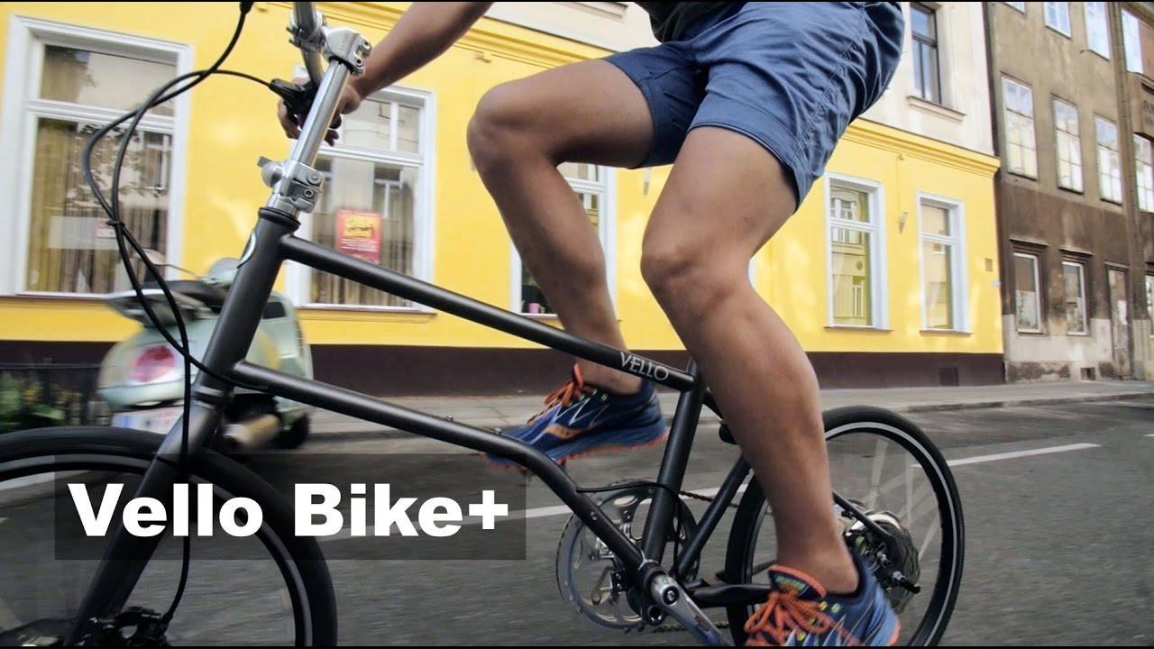 The Lightest Folding Electric Bicycle Vello Bike