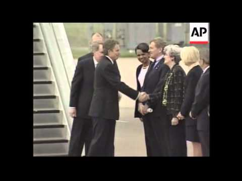 UK Prime Minister arrives for official visit