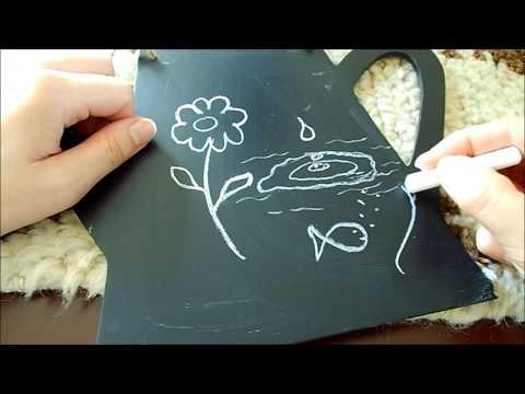 ASMR Whispering - Relaxing Chalk & Chalkboard Drawing/Writing Mp3