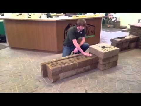 How To Build Versa Lok 174 Freestanding Walls And Columns