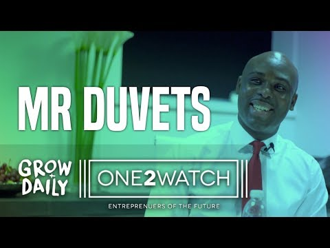"""Who is Mr Duvets"" #ONE2WATCH 
