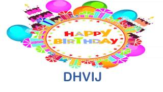Dhvij   Wishes Birthday