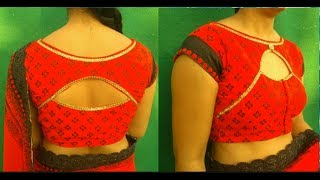 करवाचौथ special blouse cutting and stitching