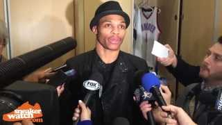 Russell Westbrook Talks Controlling His Emotions In Clutch Games