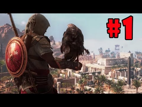 Assassin's Creed Origins: The Hidden Ones - Walkthrough - Part 1 - The Land of Turquoise HD |