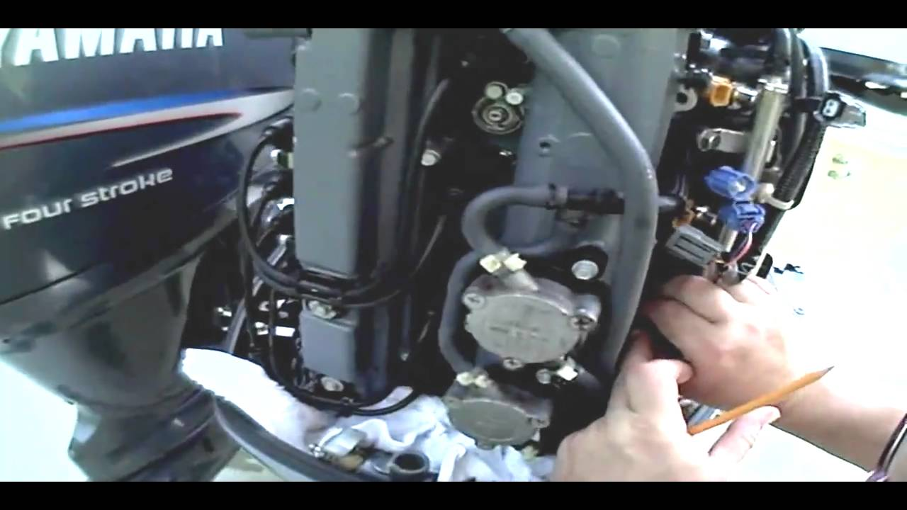 100 Johnson Wiring Harness Diagram Outboard Fuel Injectors Youtube