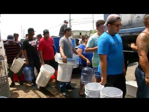 puerto rico truck drivers hurricane