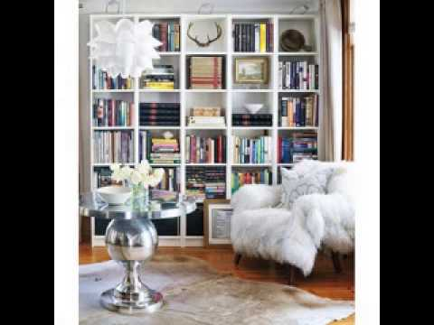 Bookshelf decorating ideas  YouTube