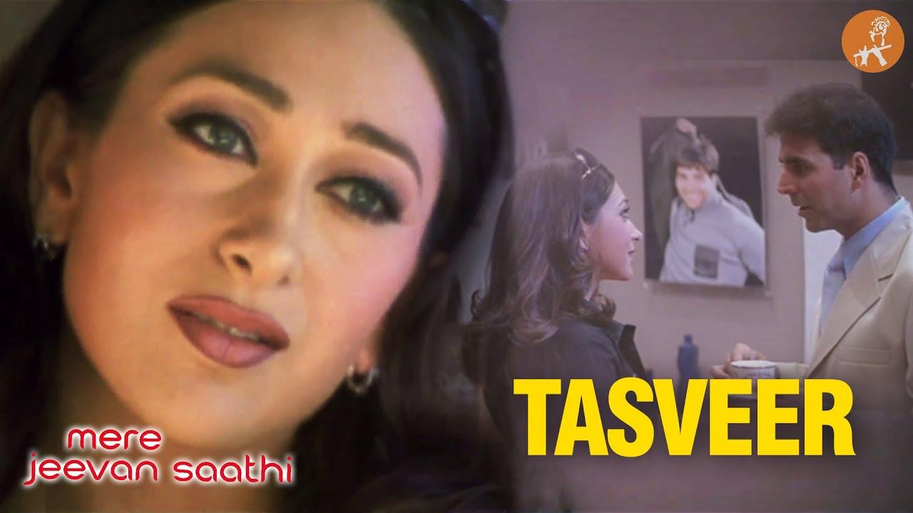 Download Har Taraf Aapki Tasveer | Hindi Movie | Mere Jeevan Saathi | Akshay Kumar | Karishma Kapoor| HD Song