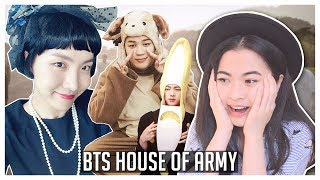 BTS House Of Army (ENG SUB) Reaction! FATHER JUNGKOOK & MOTHER HOSEOK? [3rd Muster]