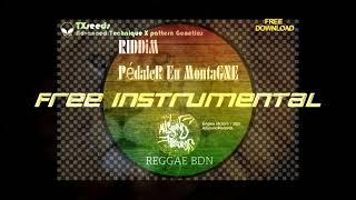 Free Reggae Riddim Instrumental / Pédaler en Montagne (2021)