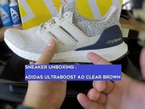 Adidas Ultraboost 4.0 Clear BrownLegend Ink, Men's Fashion