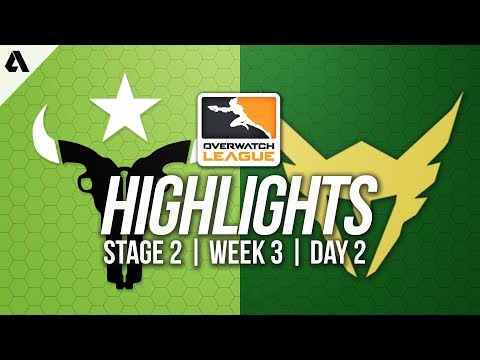 Houston Outlaws vs Los Angeles Valiant | Overwatch League Highlights OWL Stage 2 Week 3 Day 2