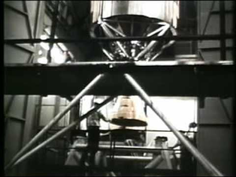 Vintage ICBM footage from Air Force Space Command