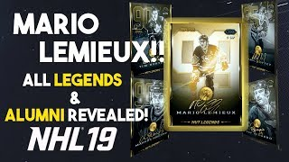 LEMIEUX RETURNS! ALL LEGENDS AND ALUMNI IN NHL 19 HUT!