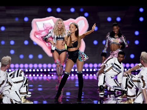 Ariana Grande - Love Me Harder/Bang Bang (Live at Victoria's Secret Fashion Show) HD