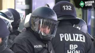 Eindrücke vom Derby-Tag in Bremen