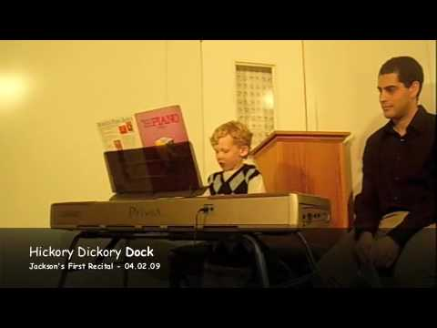 "This young student has come a long way since starting from scratch.  Listen as he plays the old standard ""Run Mouse Run,"" sometimes better known as ""Hickory Dickory Dock."""