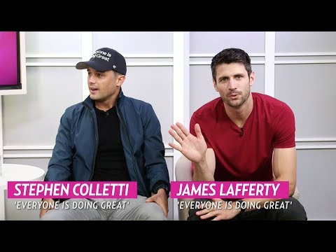Stephen Colletti and James Lafferty talk about their new show 'Everyone is Doing Great.'