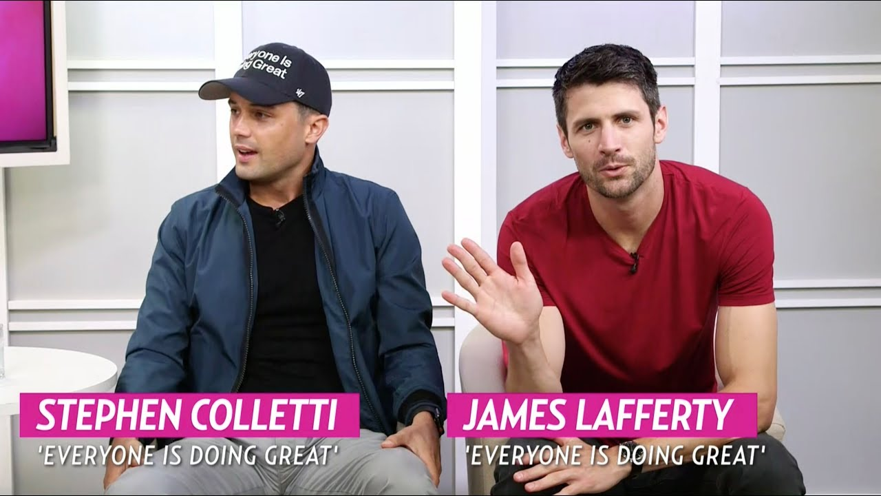 Download Stephen Colletti and James Lafferty talk about their new show 'Everyone is Doing Great.'