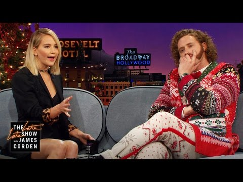 Thumbnail: Jennifer Lawrence & James Corden Pitch Apps to T.J. Miller