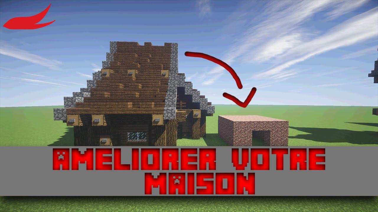 minecraft tuto am liorer votre maison youtube. Black Bedroom Furniture Sets. Home Design Ideas