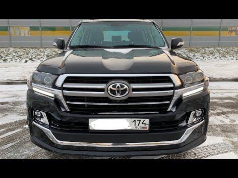 Рестайлинг Toyota Land Cruiser 200 Executive LOUNGE 2017 2018 2019