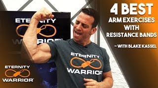 BEST ARM WORKOUTS WITH RESISTANCE BANDS