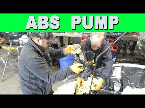 How to Remove Rebuild and Replace an ABS Pump – Acura NSX