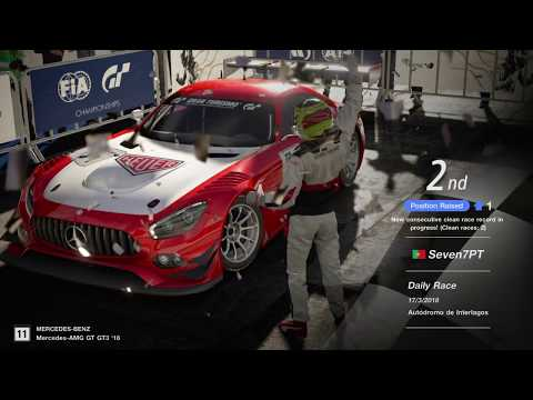 GT Sport - SLS AMG GT3 2016 @ Interlagos - Daily Events - Live - 2/3